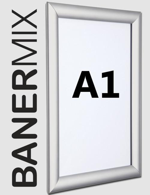 снап рамка за плакат с формат А1 http://banermix.com/
