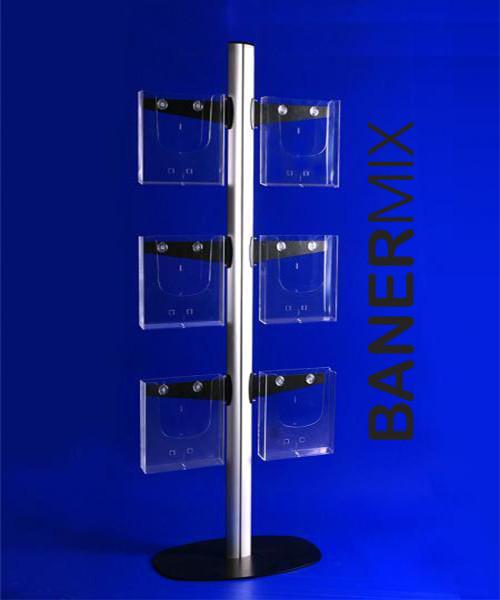 стелаж за брошури с 6 позиции http://banermix.com/
